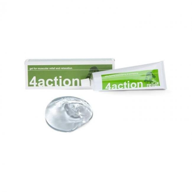 4ACTION Relief Γέλη Άμεσης Ανακούφισης & Ξεκούρασης (100g)-(Ημ.Λήξης:31/01/19)