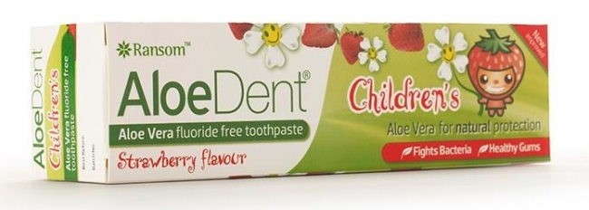 ALOE DENT Strawberry Children's Toothpaste (50ml)