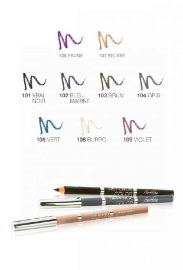 Defence Color Kohl & Kajal Eye Pencil_108 Burro (1 τεμάχιο)