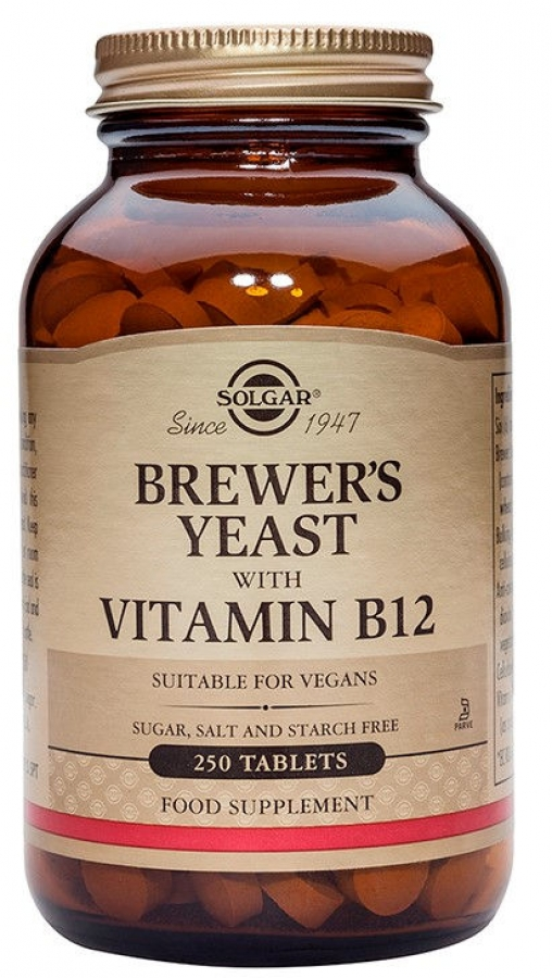 Brewer's Yeast with Vitamin B12 (250 ταμπλέτες)