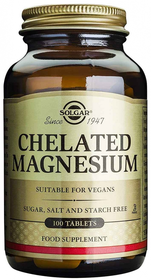 Chelated Magnesium 100mg (100 ταμπλέτες)