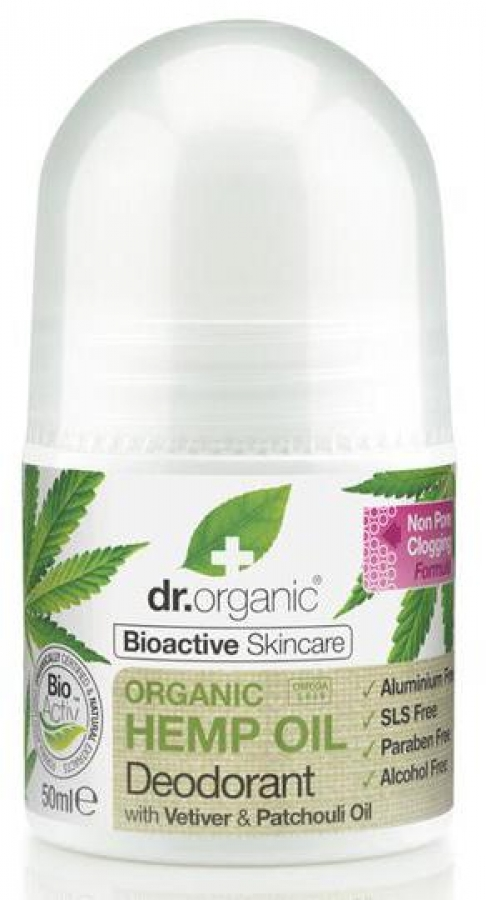 DR.ORGANIC® Organic Hemp Oil Deodorant (50ml)