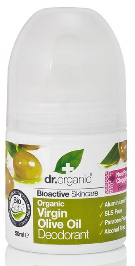 DR.ORGANIC® Organic Virgin Olive Oil Deodorant (50ml)