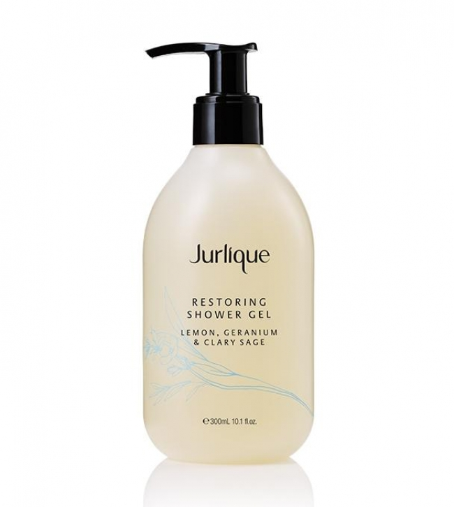 JURLIQUE Restoring Shower Gel Lemon, Geranium & Clary Sage (300ml)