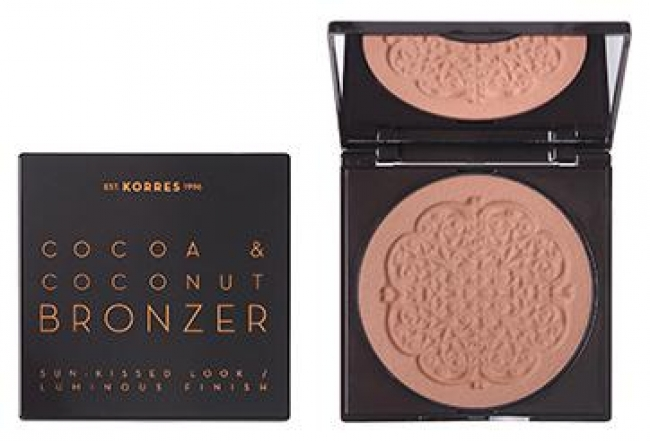 KORRES Cocoa & Coconut Bronzer_02 Warm Shade (10g)