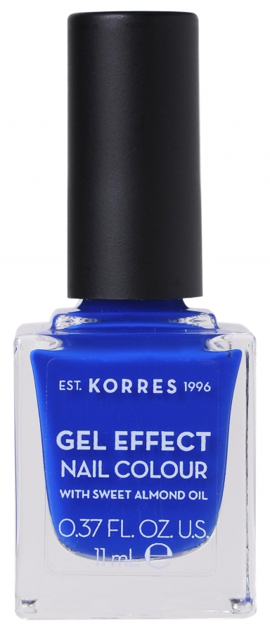 KORRES Gel Effect Nail Colour_86 Ocean Blue (11ml)