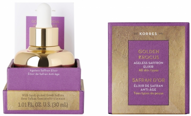 KORRES Golden Krocus Ageless Saffron Elixir (30ml)
