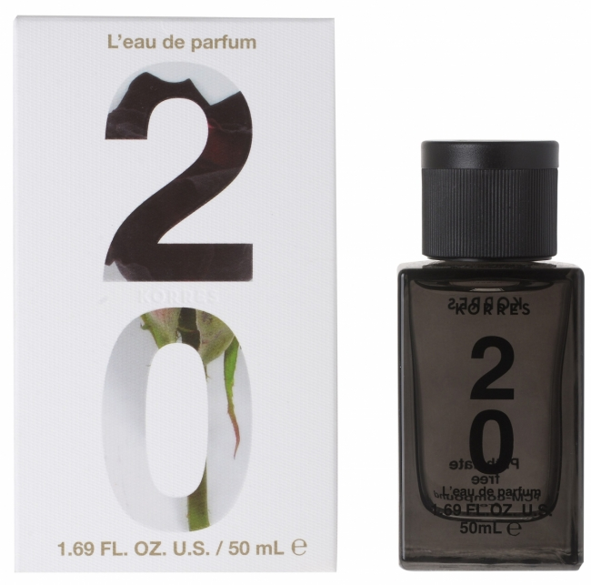 KORRES L'Eau De Parfum 20 • Dark Rose/Whiskey/Amber (50ml)