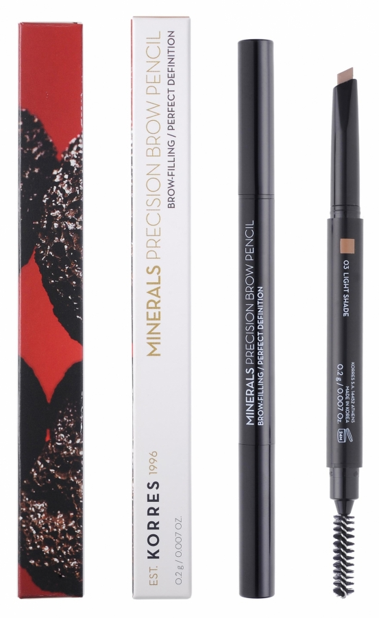KORRES Minerals Precision Brow Pencil_03 Light Shade (0,2g)