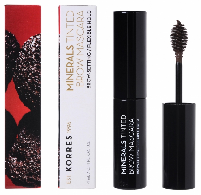 KORRES Minerals Tinted Brow Mascara_01 Dark Shade (4ml)