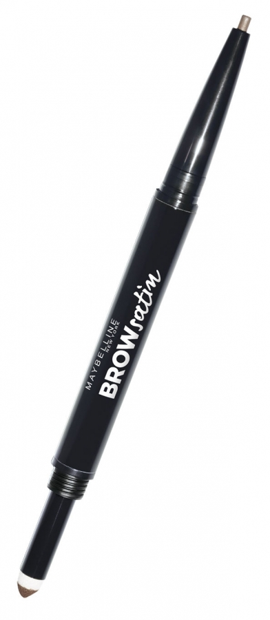 Brow Satin Smoothing Duo-Brow Pencil & Filling Powder_Dark Brown