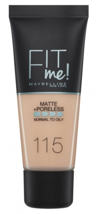 Fit Me Matte & Poreless Liquid Foundation_115 Ivory (30ml)