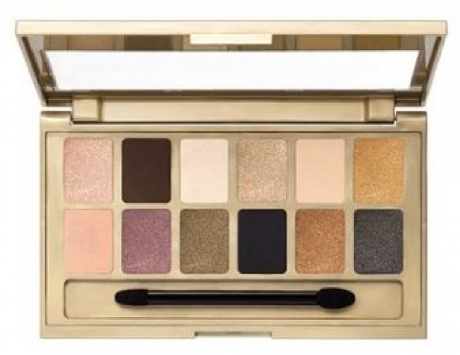 The 24 Karat Nudes Eyeshadow Palette (9,6g)