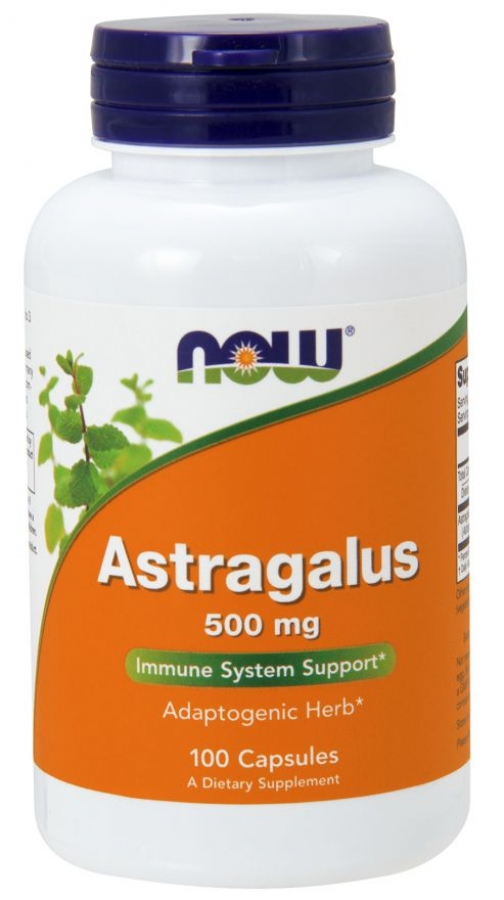 NOW Astragalus 500mg (100 κάψουλες)