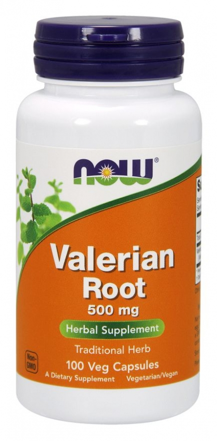 NOW Valerian Root 500mg (100 κάψουλες)