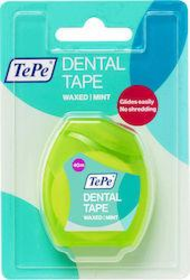 TePe Dental Tape Wax Mint 40m