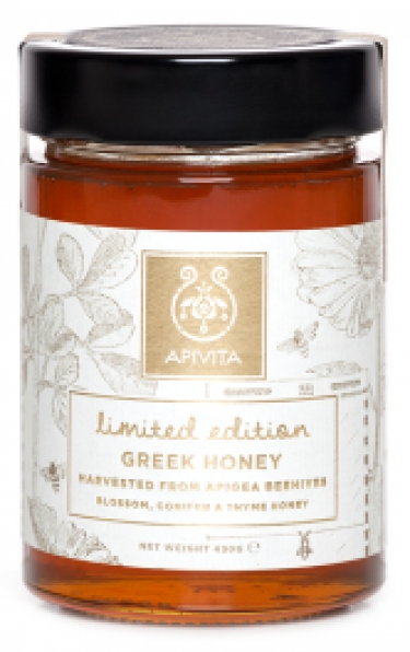 APIVITA Limited Edition Blossom, Conifer & Thyme Honey (430g)