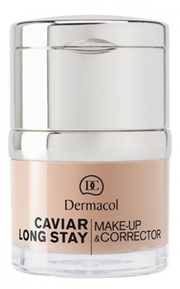 DERMACOL Caviar Long Stay Make-Up & Corrector 03 Nude (30ml)