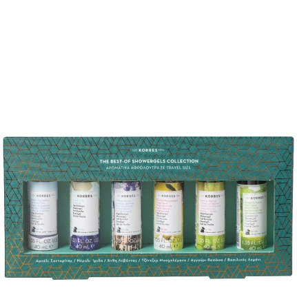 GIFT SET The Best-Of Showergels Collection (6x40ml)