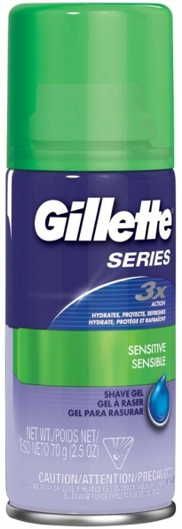 GILLETTE Series 3x Action Sensitive Gel (75ml)