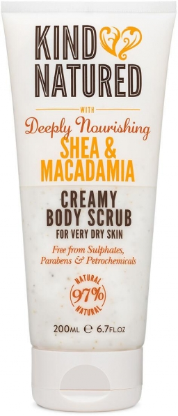 Deeply Nourishing Shea & Macadamia Creamy Body Scrub (200ml)