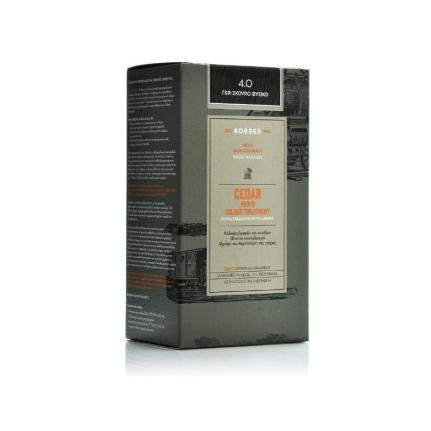 KORRES Cedar Men's Colour Treatment 4.0 Γκρι Σκούρο Φυσικό