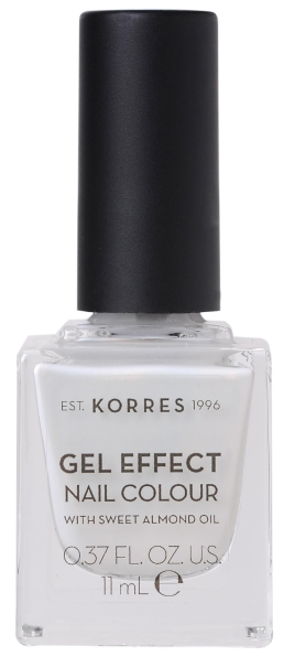KORRES Gel Effect Nail Colour_11 Coconut Smoothie (11ml)