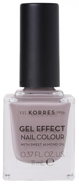 KORRES Gel Effect Nail Colour_35 Cocoa Cream (11ml)