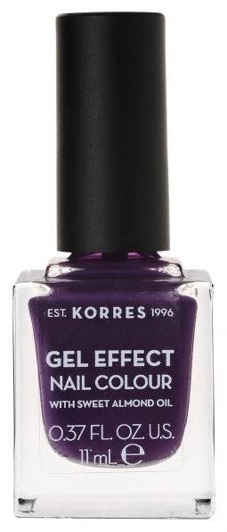 KORRES Gel Effect Nail Colour_75 Violet Garden (11ml)