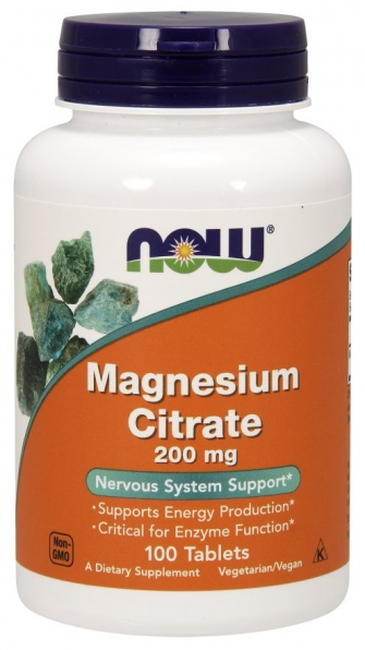 Magnesium Citrate 200mg (100 ταμπλέτες)