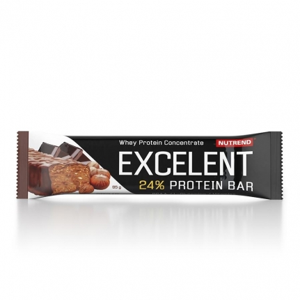 NUTREND Excelent 24% Protein Bar | Chocolate with Nuts (85g)