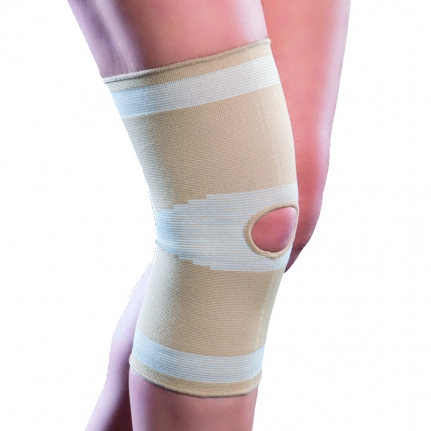 ANATOMIC HELP Knee Elastic Support 1502 (Μπεζ) Large