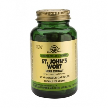SOLGAR St. John's Wort 175mg Herb Extract (60 κάψουλες)